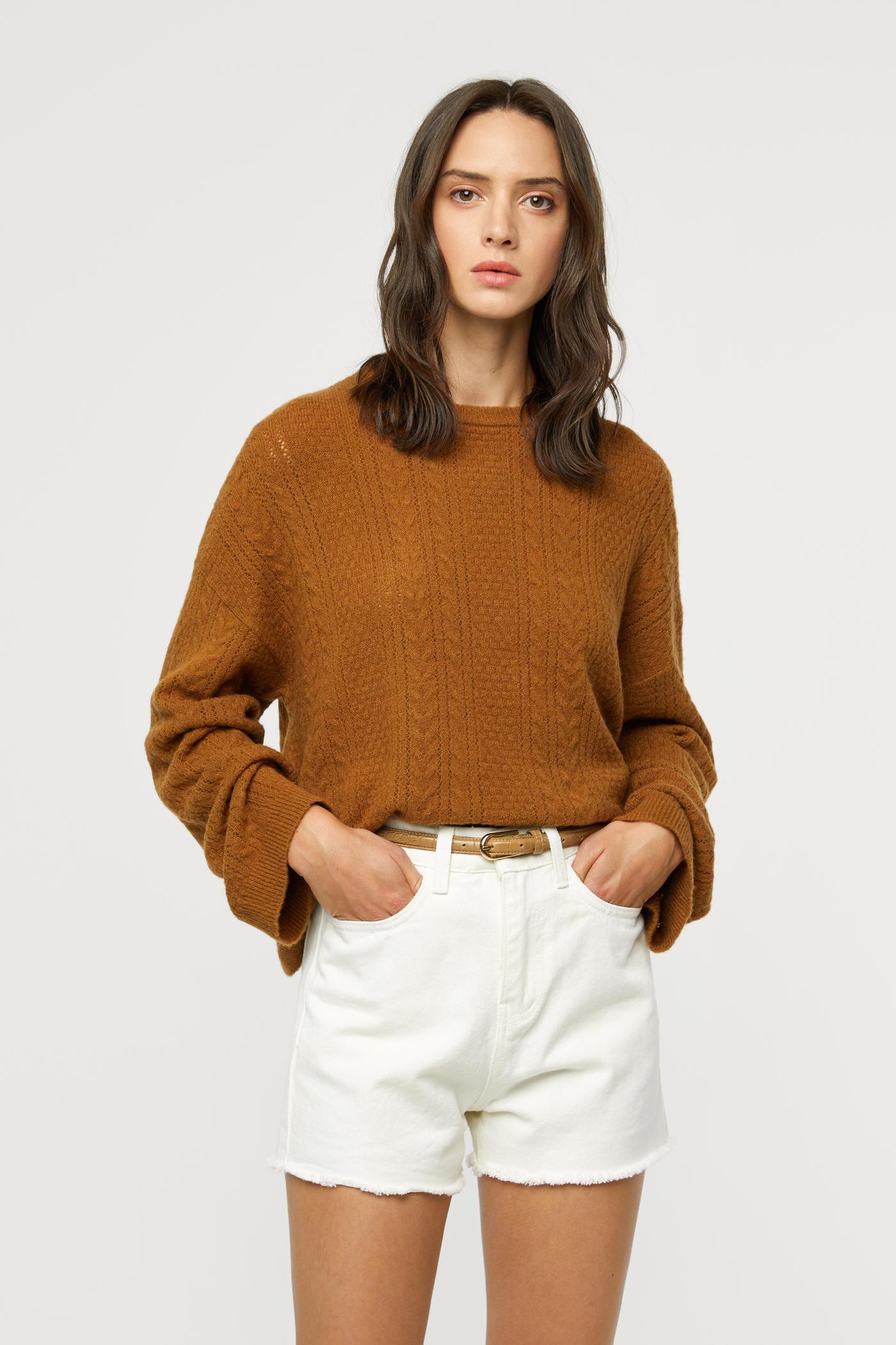 Sweater 2974 Camel 1
