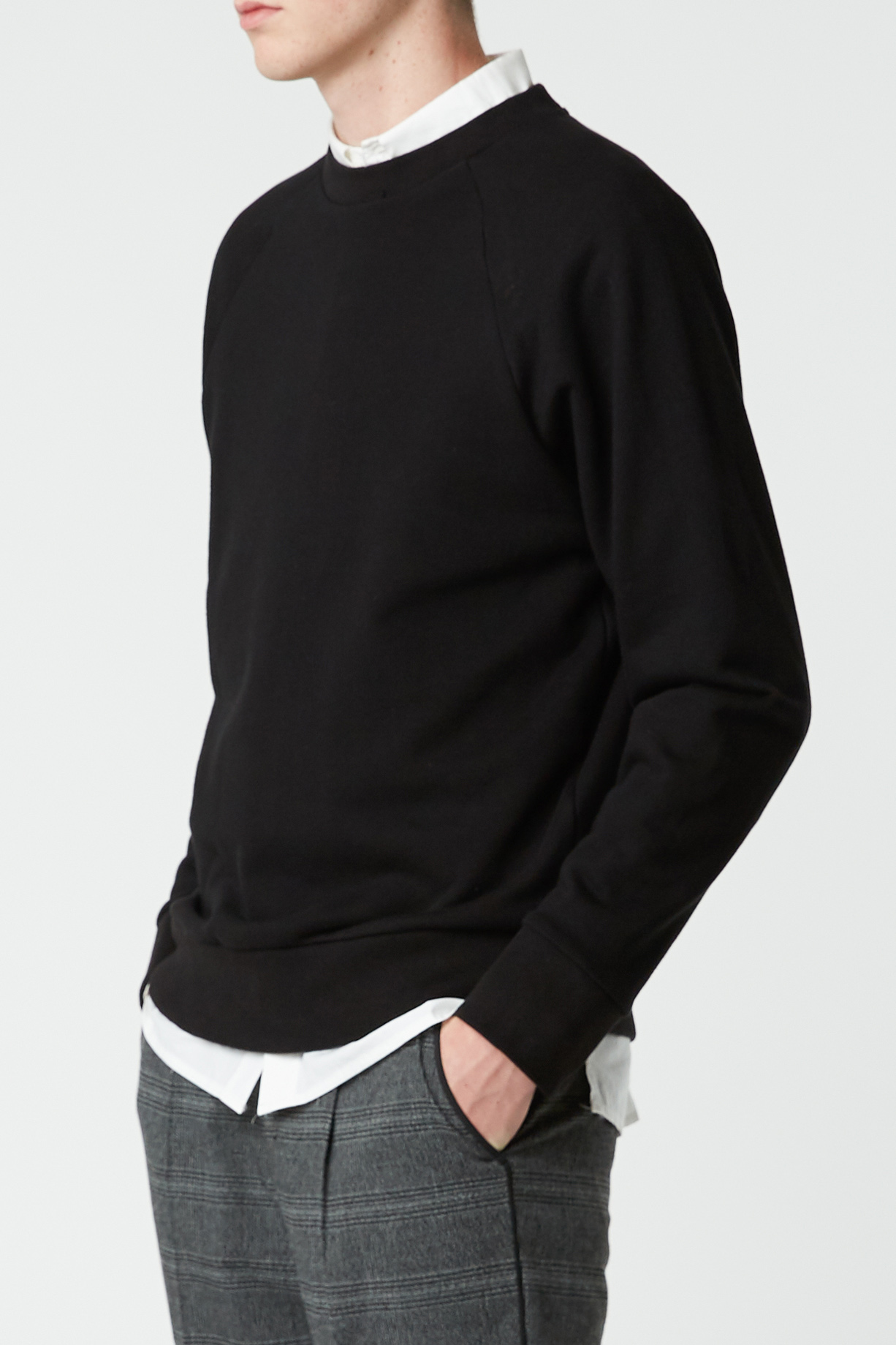Sweatshirt 2474 Black 1