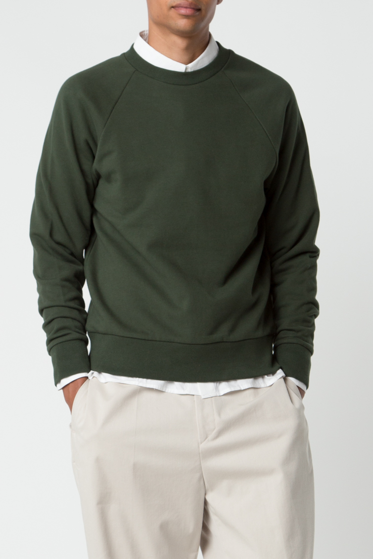 Sweatshirt 2474 Green 8