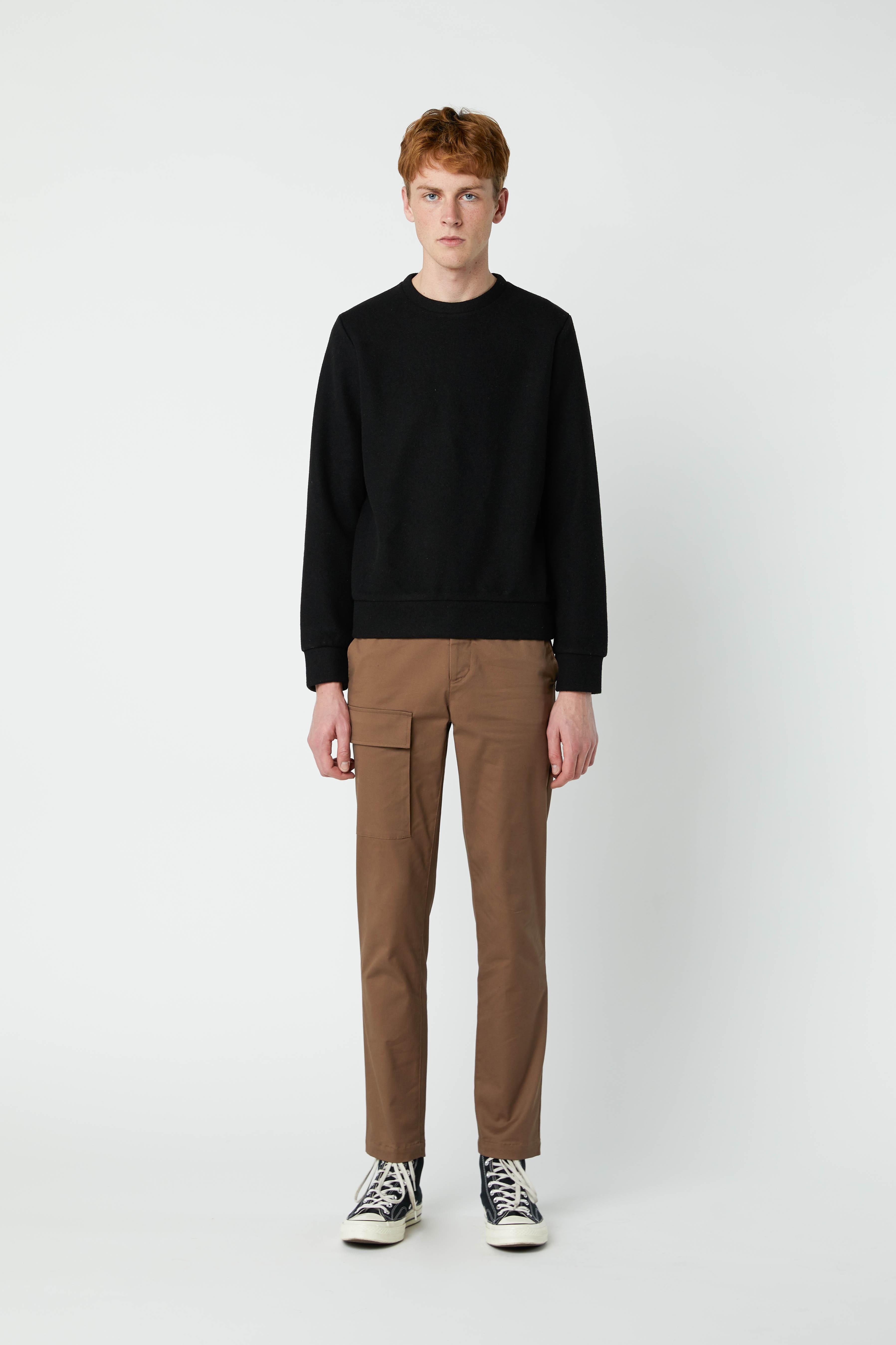 Sweatshirt 2668 Black 8