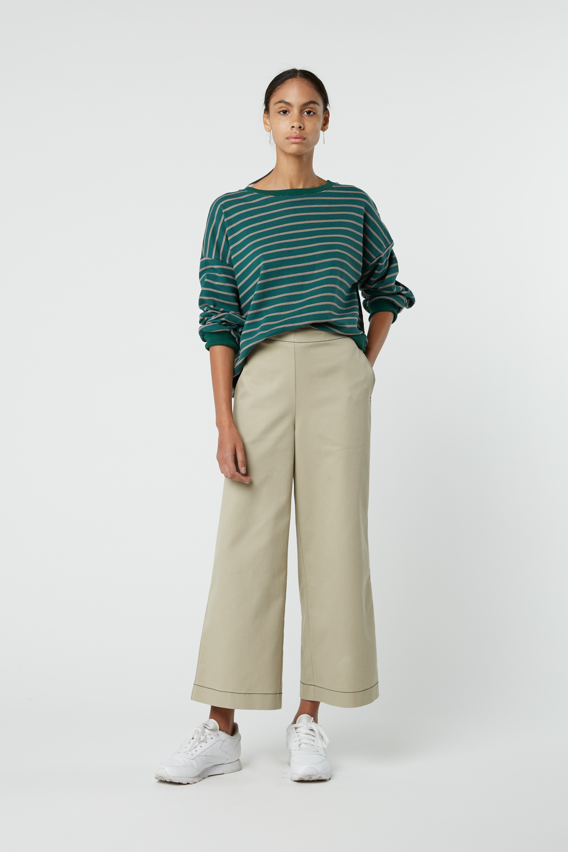 Sweatshirt J005 Green 4