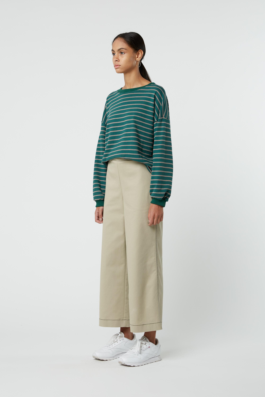 Sweatshirt J005 Green 5