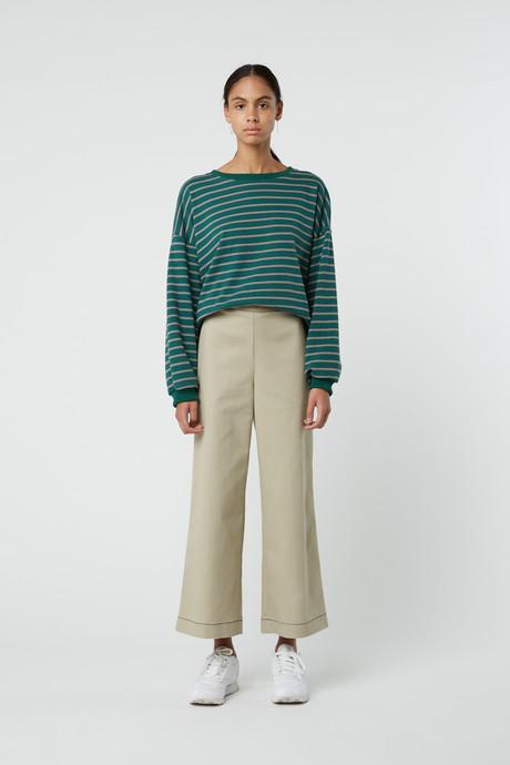 Sweatshirt J005 Green 6