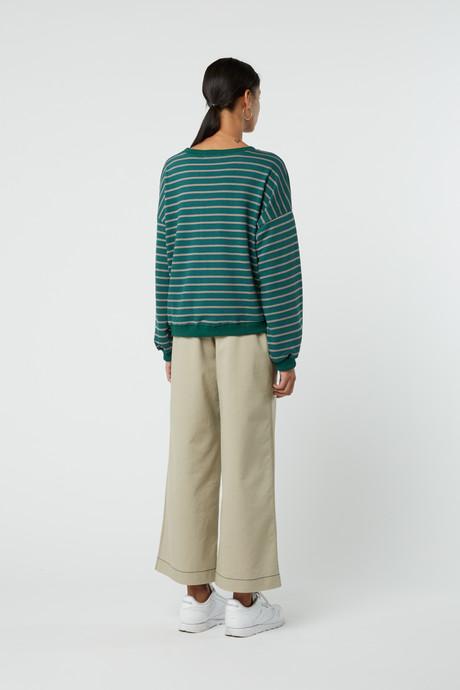 Sweatshirt J005 Green 7