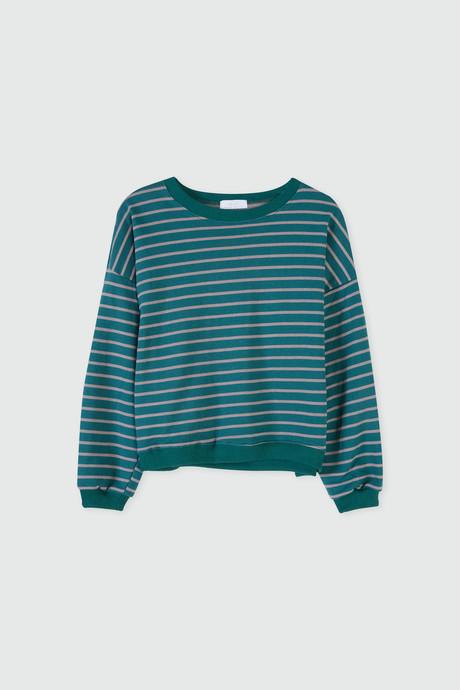 Sweatshirt J005 Green 8