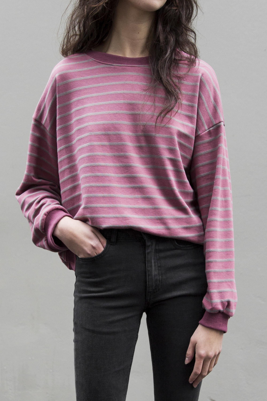 Sweatshirt J005 Pink 1