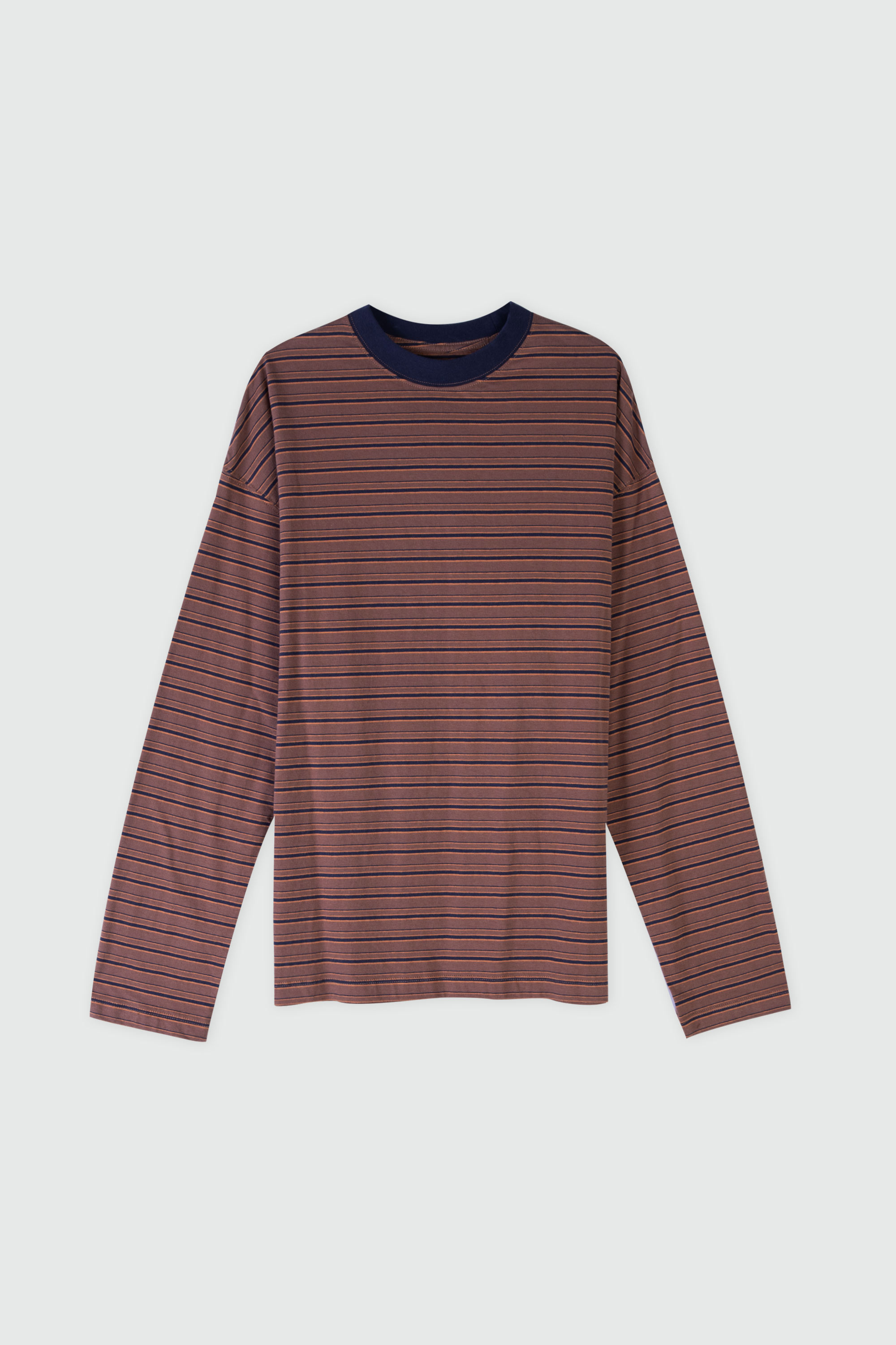 TShirt 3313 Brown Stripe 22