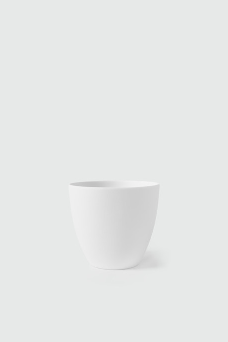 Tapered Porcelain Cup 2941 White 3