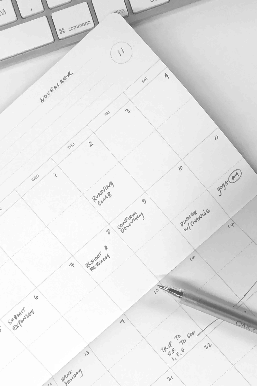 White Calendar 2421 White 1