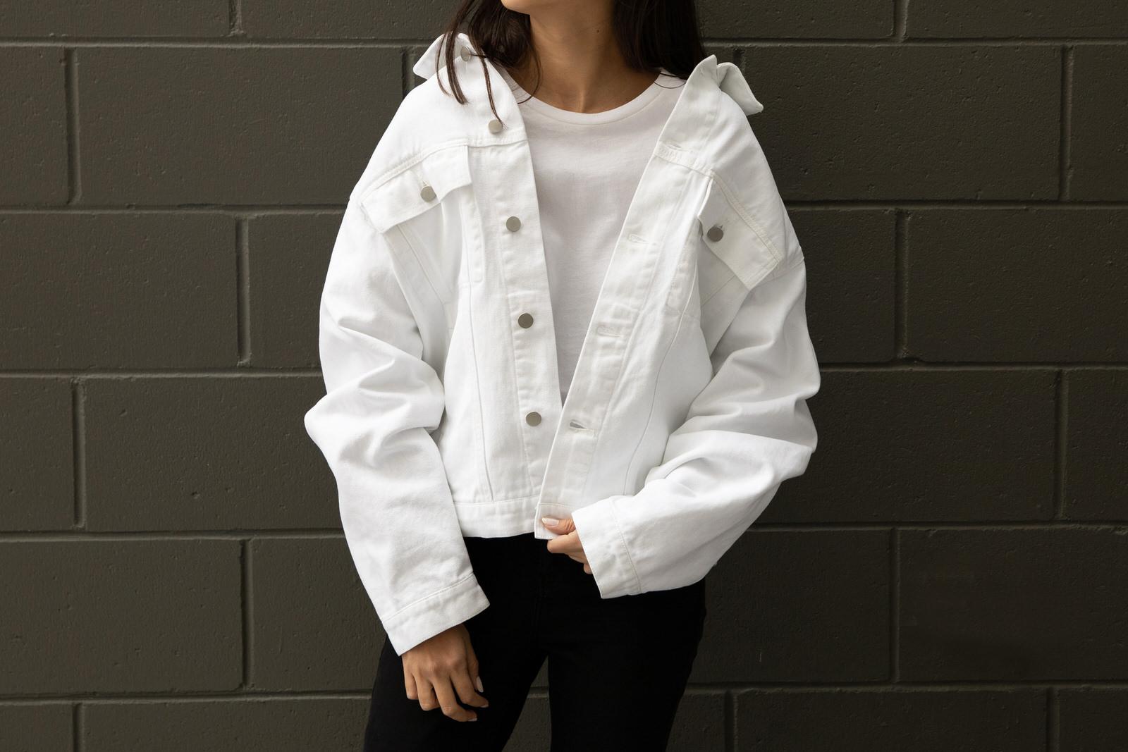 Modern women's denim jackets