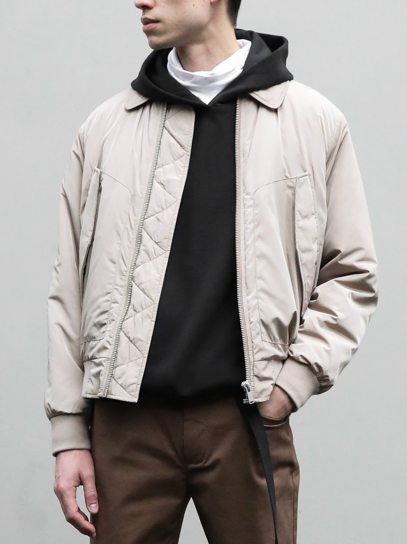 Mens outerwear jacket casual clothing