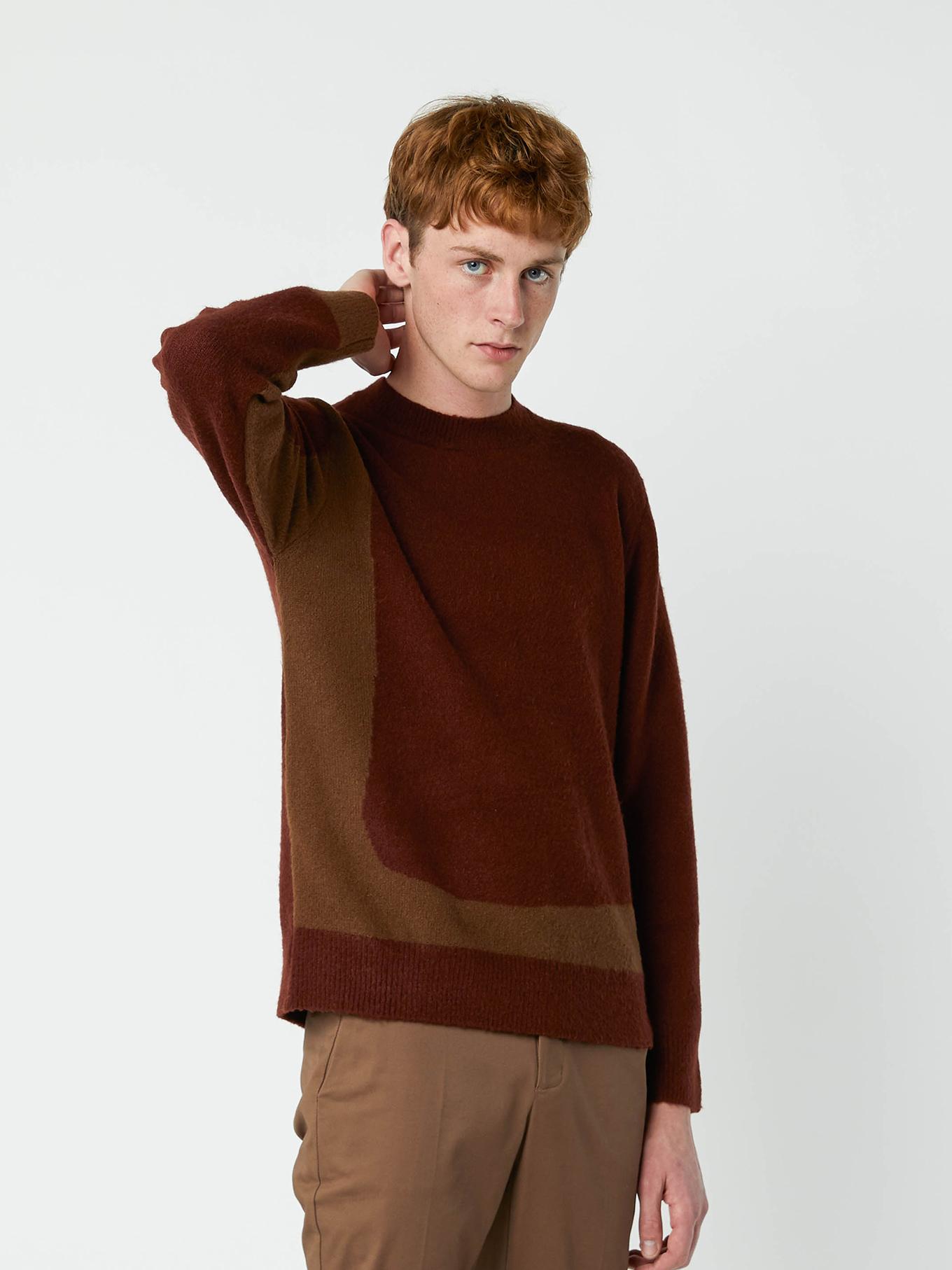 Mens longsleeve sweater basic casual everyday clothing